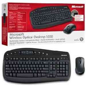Microsoft Wireless Optical Desktop 1000 Standard Keyboard + Optical Mouse