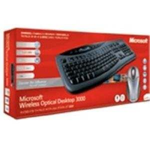 Microsoft Wireless Keyboard 3000 w/ Wireless Optical Mouse 2.0