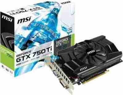 MSI GTX750Ti 5GB DDR5 NVIDIA GeForce Gaming/Graphics Card