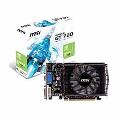 MSI N730 4GB DDR3 NVIDIA GeForce Gaming/Graphics Card