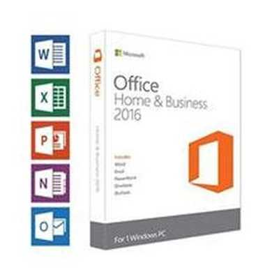 Microsoft MS 2016 Office Home & Business Software DVD