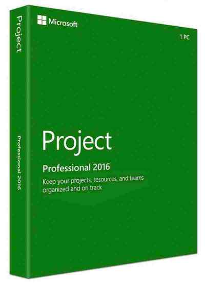 Microsoft Project 2016 Standard Software