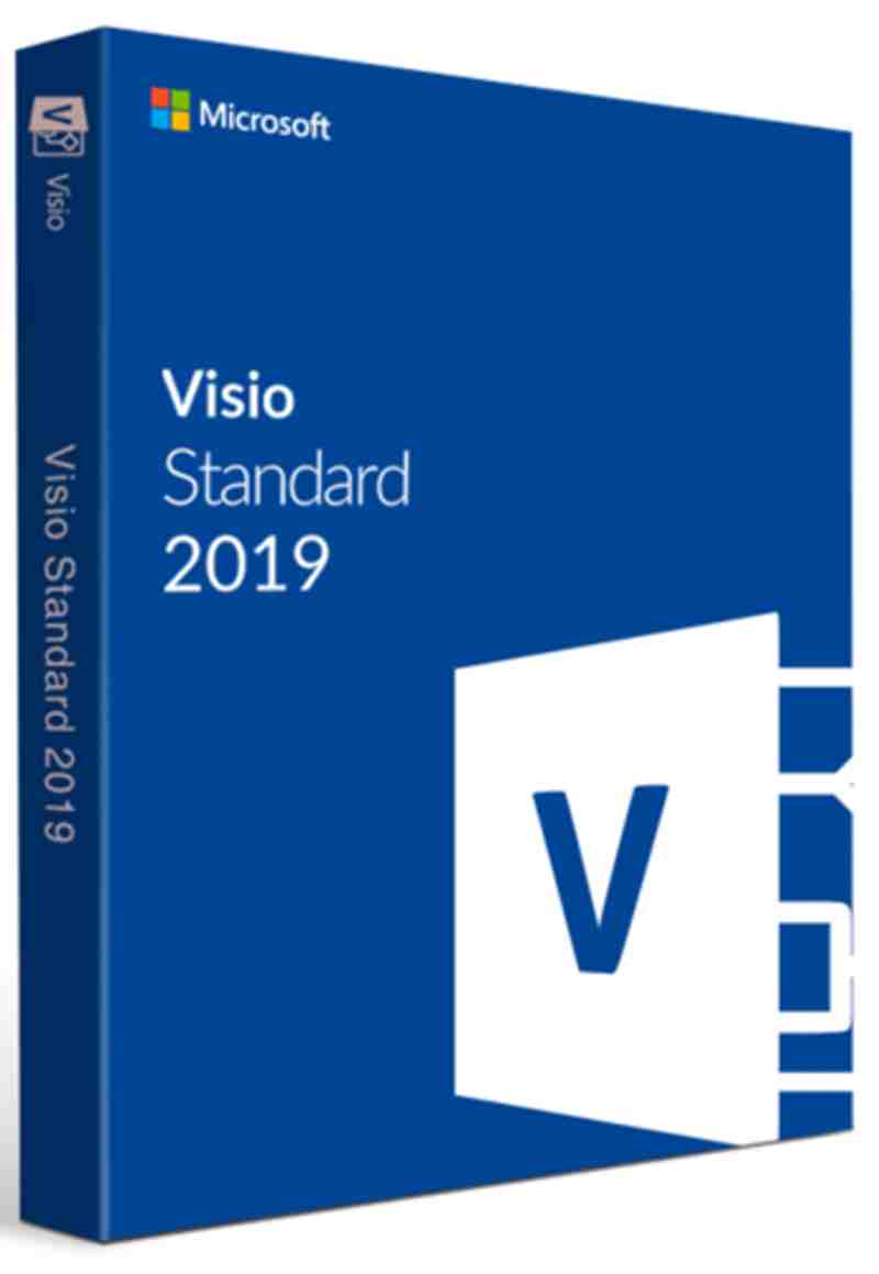 Microsoft ms Visio 2019 Standard Software