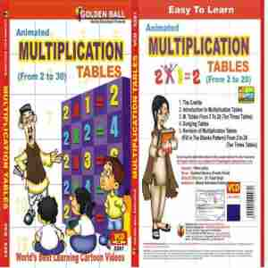 Multiplication Tables | Golden Balls Animated VCD Price 8 Dec 2019 Golden Tables English Vcd online shop - HelpingIndia