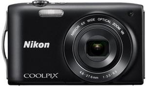 Nikon Coolpix S3300 Point & Shoot Digital Camera