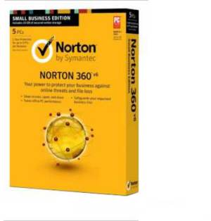 Norton 360 Version 6.0 5 PC 1 Year