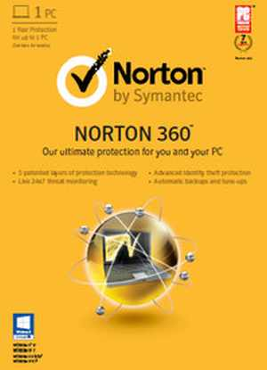 Norton 360 V6 2015 1 PC 1 Year