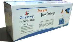 Odyssey 12A Compatible Toner Cartridge Recyled HP Printer 1010/1012/1015/1018/1020/1022