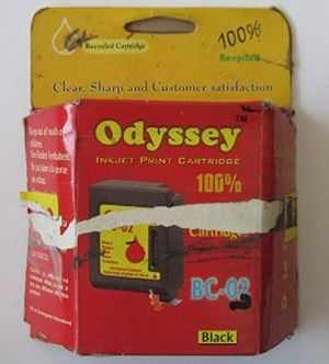 Odyssey HP Comaptiable 21 Black Ink Cartridge
