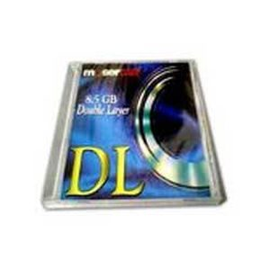 Moser Baer Blank 8.5 GB DVD-R Media Double Layer 10 PCs Pack