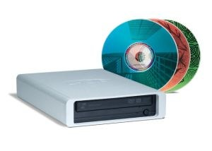 LaCie USB d2 DVD�RW Drives External with LightScribe