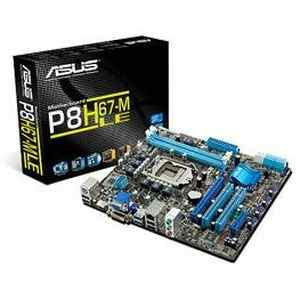 Asus P8H67-M-LE 16GB DDR3 USB 3.0 Intel Motherboard