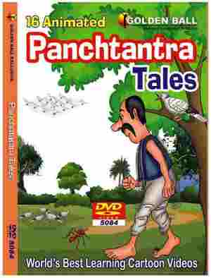 Golden Ball 16 Animated English DVD Panchtantra Tales