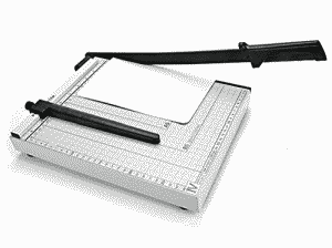 Professional Heavy Duty Guillotine Trimmer Manual A3 Size Manual Paper Cutter