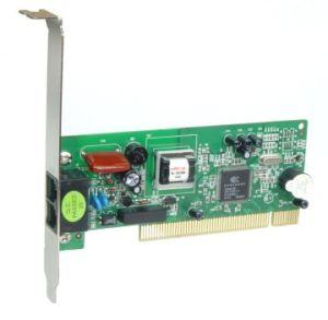 PCI - 56Kbps modem card