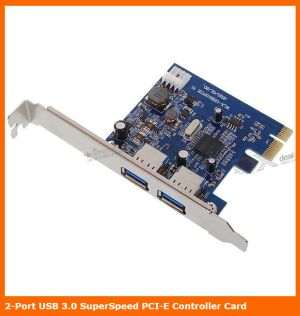 2-Port SuperSpeed USB 3.0 PCI-E Express Card