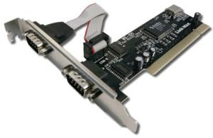 PCI to SERIAL Adaptor card 2 Port DB9 port card