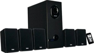 Philips DSP 2600 5.1 Channel Multimedia Speakers