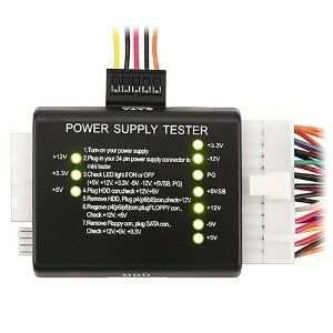 Power Supply Tester for PC ATX / SATA / HDD 20/24 Pin