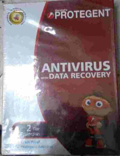 Protegent Antivirus Software with Data Recovery Software
