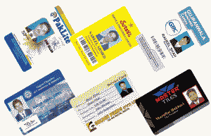PVC Plastic Thermal Printable School Corporate 100Pcs Blank ID Cards