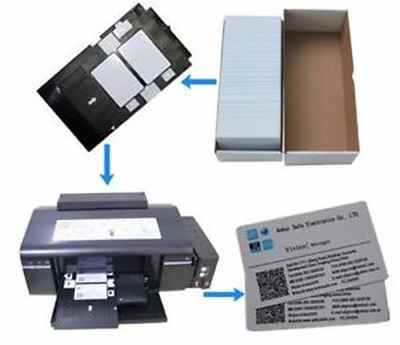 Buy PVC ID Card Printer - HelpingIndia Price PVC ID Card Tray Epson Printer Online Computer Market Shop PVC ID L850 Printer