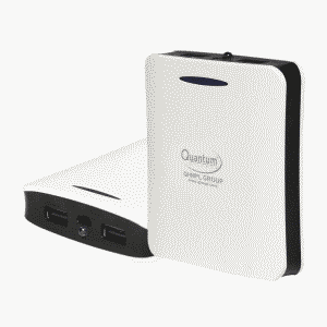 Quantum QHMPL Power Bank10400 mAh 2 Port USB Powerbank