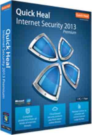 Quick Heal Internet Security 2013 3 PC 1 Year