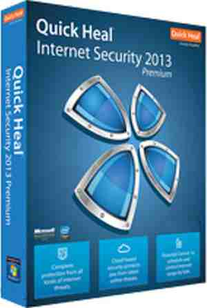 Quick Heal Internet Security 2013 5 PC 1 Year