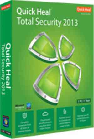 Quick Heal Total Security 2013 5 PC 1 Year