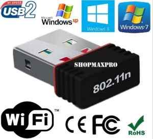 Ranz Mini USB WiFi 150Mbps Wireless Adapter Network LAN Card