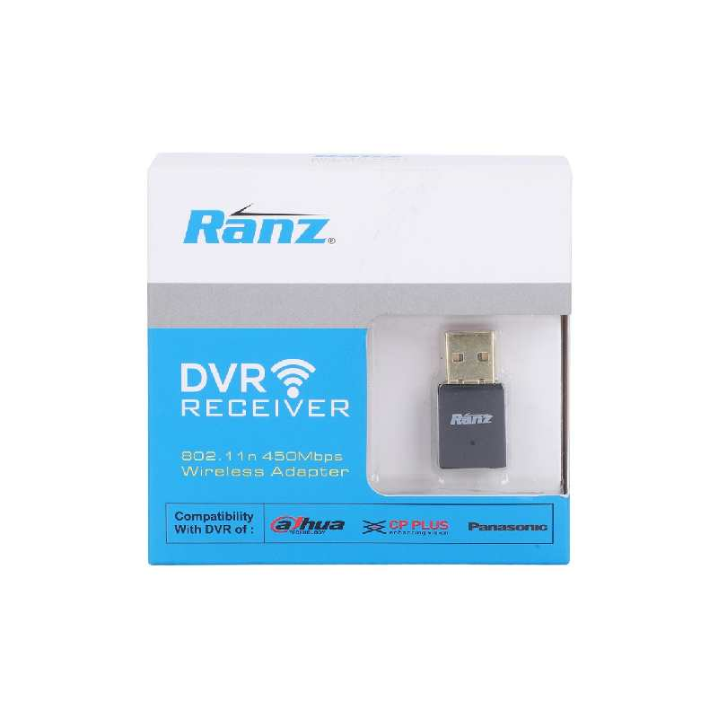 Ranz DVR Wifi Receiver 450Mbps WIFI DONGLE Support CCTV DVR USB Adapter