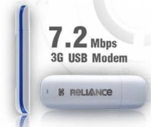 Reliance 3G Prepaid Internet USB 3G Data Card Dongle Tariff Plans Delhi