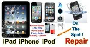 Repair & Service shop of Smartphones i-Phone Tablets iPad Android Apple Blackberry Cell Mobile Phones