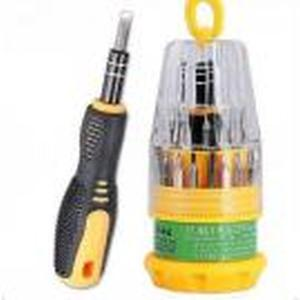 Jackly Magnetic Toolkit Steel Bit Tool Kit ScrewDriver 31-In-1 Set