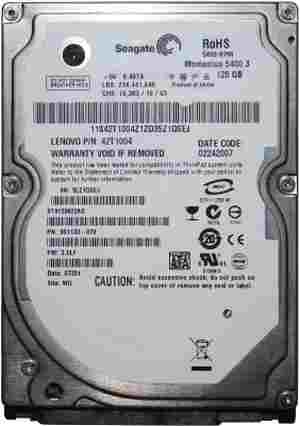 Seagate 320 GB Laptop Internal Hard Drive Old Sata HDD