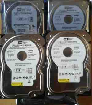 Seagate/WD 40 GB IDE PATA Refurbished Hard Disk Drive HDD