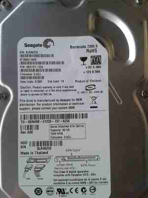 Seagate/WD 80 GB SATA New Hard Disk Drive HDD