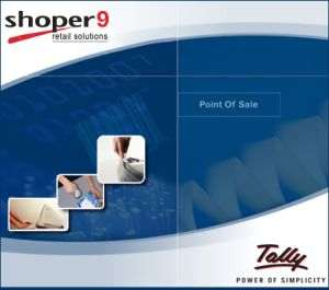 Tally Shoper Multi user Silver Box CD Call for Best Price