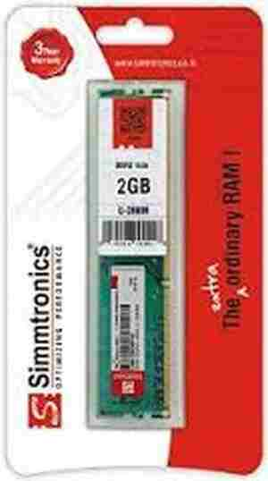 SIMMTRONICS 2GB DDR3 DESKTOP Original RAM
