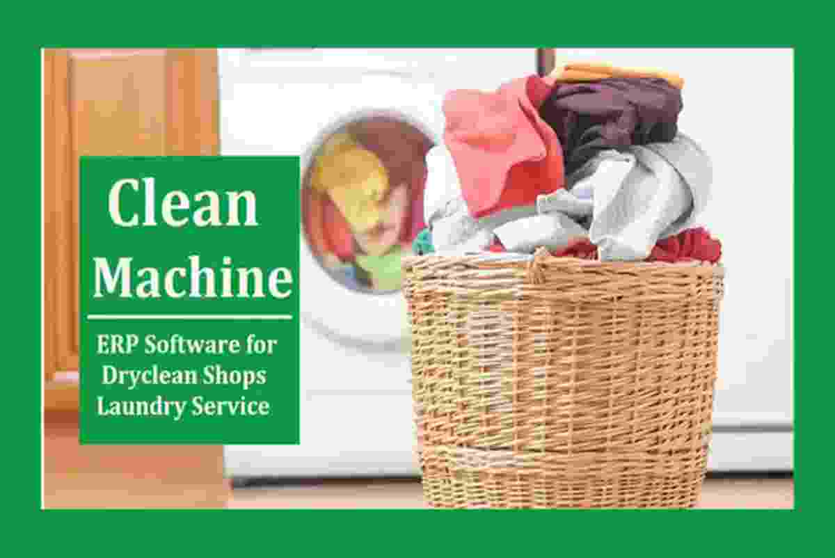 Drycleaners Laundry Software | Clean Machine ERP Software Price 1 Apr 2020 Clean Laundry Management Software online shop - HelpingIndia