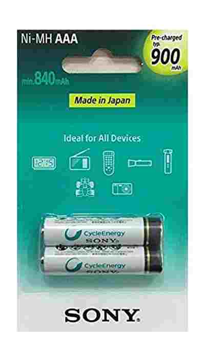 Aaa Rechargeable Cell | Sony AAA Cycle Batteries Price 15 Dec 2018 Sony Rechargeable Batteries online shop - HelpingIndia