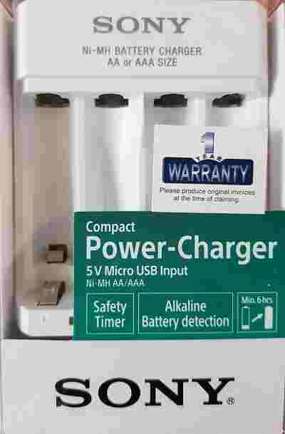 Sony BCG-34HHN for AA/AAA (Battery Not Included) Battery Charger