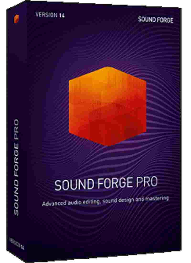 Magix Sound Forge Pro 14 Professional Software