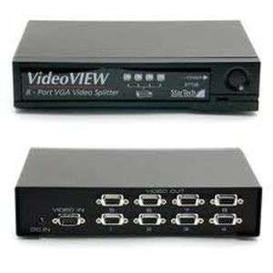 VGA Video Splitter 8 Port 1 PC to Display 8 Monitor