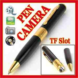 Spy Pen Camera with Video & Audio Recording, Picture Capturing