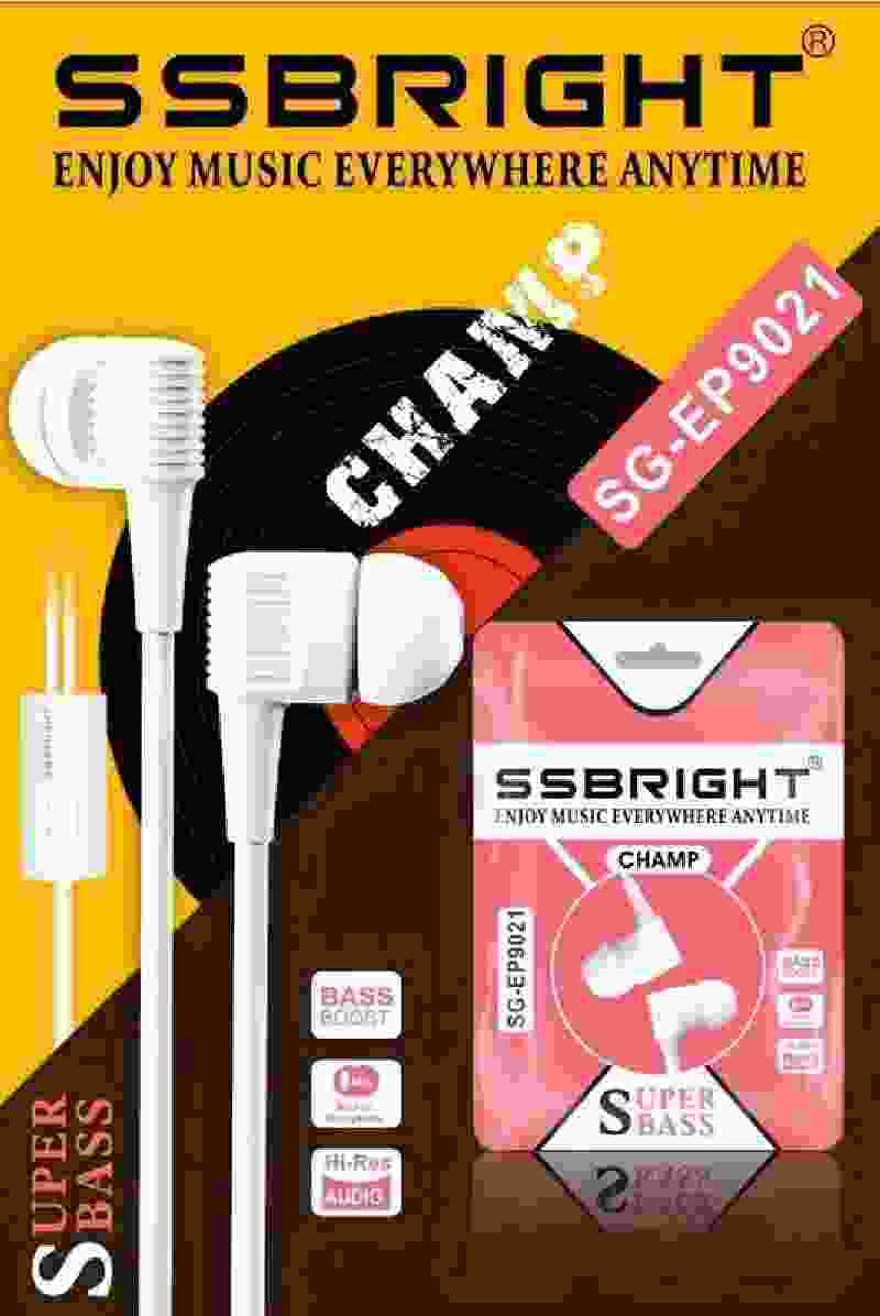 SSBRIGHT SG-EP9021 MultiColor Universal Hands Free AirPhone HeadPhone