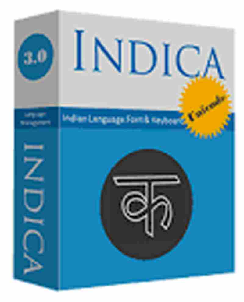 Summit Indica UNICODE Win (Hindi-30 Fonts+ 1 Extra Language) Software CD