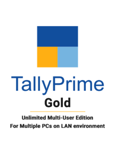 Tally Prime Gold GST Ready Multi User Accounting Software Call for Best Price