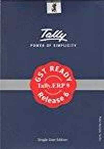 Tally.ERP 9 Gold GST Ready Multi User Accounting Software Call for Best Price